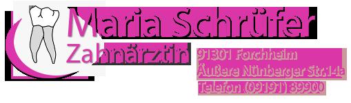 Zahnärztin Schrüfer in Forchheim